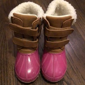 Toddler girl Gap thinsulate duck boots